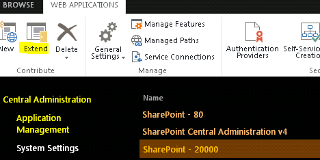 Create \ Extend a SharePoint 2010 \ 2013 site for Internet
